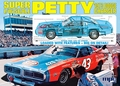 "MPC Richard Petty #43 ""STP"" '74 Dodge Charger, Big 1/16 Scale, Molded in Petty Blue  (In Stock)"