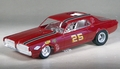 """MPC Rupp & Steffey """"STP Cougar Country"""" 1967 Cougar Funny Car with Clear Body Built Kit"""