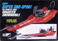 "MPC Rupp ""Super Sno-Sport"" Dragster Snowmobile, 1/20 scale"