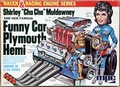 "MPC Shirley ""Cha Cha"" Muldowney and Her Funny Car Plymouth Hemi Engine, 1/10 Scale"