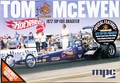"MPC Tom ""Mongoose"" McEwen 1972 ""Hot Wheels"" Rear Engined Top Fuel Dragster"