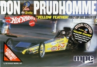 "MPC ""Yellow Feather"" Don ""Snake"" Prudhomme 1972 ""Hot Wheels"" Front Engined Top Fuel Dragster"