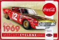 "Polar Lights Bobby Allison #12 ""Coca Cola"" 1969 Mercury Cyclone Spoiler II"