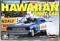 "Polar Lights ""Hawaiian"" 1969 Dodge Charger Funny Car"