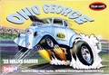 "Polar Lights ""Ohio George� AA/GS 1933 Willys Coupe Gasser Caricature, Snaps Together"
