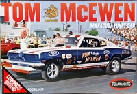 "Polar Lights Tom ""Mongoose"" McEwen 1969 Barracuda Funny Car"