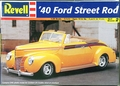 Revell 1940 Ford Convertible Street Rod