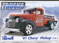 Revell 1941 Chevy Pickup, 2 'n 1, Stock or Custom Street Rod