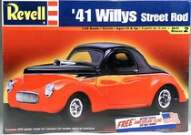 Revell 1941 Willys Coupe Street Rod