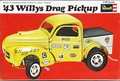 Revell 1943 Willys Pickup AA/Gasser