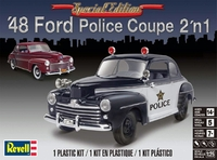 Revell 1948 Ford Coupe 2'n1, Stock or Police Car
