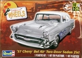 Revell 1957 Chevy Bel Air 2 Door Sedan 2 'n 1, Stock or Custom