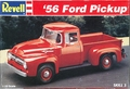 Revell 1956 Ford F-100 Pickup, Stock (Revised in 1995)