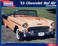 Revell/Monogram 1955 Chevy Bel Air Convertible with Continental Kit and Boot and Up-Top