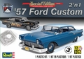 Revell 1957 Ford Custom 2 Door Sedan, 2'n1, Stock or Race