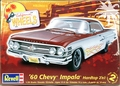 Revell 1960 Chevy Impala Hardtop 2 'n 1, Stock or Lowrider