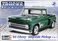 Revell 1965 Chevy Stepside Pickup 2 'n 1, Stock or Custom