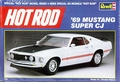 """Revell 1969 Mustang Fastback 428 Cobra Jet """"Super CJ,"""" Includes Stock and """"Dyno Don"""" Nicholson SS/EA (Super Stock/E Automatic) Decals"""