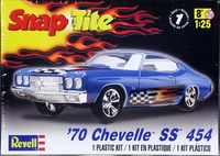 Revell 1970 Chevelle SS 454 Hardtop, Snaps Together