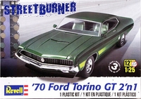 Revell 1970 Torino GT, Stock or Drag