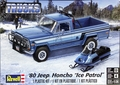 "Revell 1980 Jeep Honcho ""Ice Patrol"" with Snowmobile, 1/25th Scale"