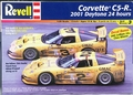 Revell Corvette C5-R 2001 Daytona 24 Hours #2 or #3, Dale Earnhardt, Dale Earnhardt Jr., Ron Fellows & Others or 2001 LeMans Corvette