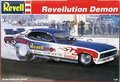 "Revell Ed ""The Ace"" McCulloch ""Revellution"" Dodge Demon Funny Car (blue/white car)"