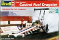 Revell Gary Ormsby Castrol GTX 1989 Rear Engined Top Fuel Dragster, Correct Box Says 1989 Champion