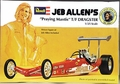 "Revell Jeb Allen ""Praying Mantis"" 1975 Rear Engined Top Fuel Dragster with Driver Figure"