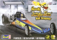 "Revell ""Jungle Jim"" Rear Engined Top Fuel Dragster"