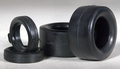 Revell/Monogram 1/25 or 1/24 Scale Vinyl Unlettered Pro Stock or Super Stock Slicks and Front Drag Tires (One Set of 4 Tires in Each Pack)