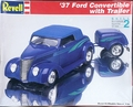 Revell/Monogram 1937 Ford Convertible with Trailer
