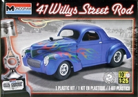 Revell/Monogram 1941 Willys Coupe Street Rod
