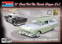 Revell/Monogram 1957 Ford Del Rio 2 Door Station Wagon, Stock or Police