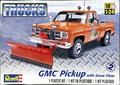 Revell/Monogram 1977-78 GMC Shortbed Fleetside Pickup with Snow Plow