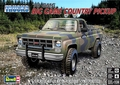 "Revell/Monogram 1978 GMC Shortbed Fleetside ""Big Game Country"" Pickup"