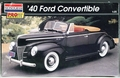 "Revell/Monogram ""Pro Modeler"" 1940 Ford Convertible, Stock or Street Rod"