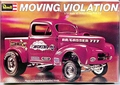 "Revell ""Moving Violation"" AA/G 1941 Willys Pickup Gasser"