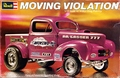 "Revell ""Moving Violation"" AA/G 1941 Willys Pickup Gasser, Original Issue"