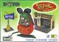 Revell Rat Fink with 1/25 Scale Ed Roth Garage Diorama