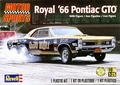"Revell Royal Pontiac ""GeeTO Tiger"" Super Stock 1966 Pontiac GTO Hardtop with Pre-Painted Resin Tiger Driver Figure"