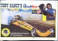 "Revell Tony Nancy ""Revell-liner"" 70's Rear Engined Top Fuel Dragster with Driver Figure"