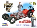 "Revell TV Tommy Ivo ""Showboat"" 4-Engined Buick Dragster with Pre-Painted Resin Tommy Ivo Figure"