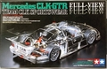 "Tamiya Mercedes CLK-GTR ""Team CLK Sportswear"" with Clear Plastic Body"