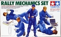 Tamiya Rally Mechanics and Driver Figure Set