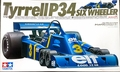 Tamiya Tyrrell P34 Six Wheeler Formula One, 1/12 Scale