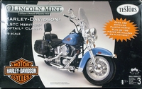 Testors Harley Davidson FLSTC Heritage Softail Classic, 1/9th Scale