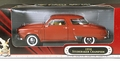 Yat Ming Road Signature 1950 Studebaker Champion Coupe, Red with Tan Interior