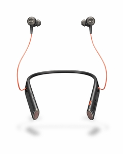 Plantronics Voyager 6200 UC Bluetooth Wireless Earbud Headset Black