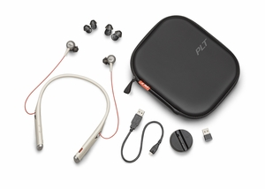 Plantronics Voyager 6200 UC  Bluetooth Wireless Earbud Headset Sand